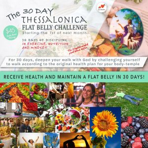 THE 30 DAY THESSALONICA FLAT BELLY CHALLENGE